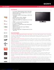 Kdl40xbr9, kdl46xbr9, kdl52xbr9, service manual: sony: amazon. Com.