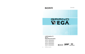 Sony GrandWega KDF-55E2000 Operating Instructions Manual