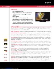 Sony Bravia Kdl 52nx800 Manuals
