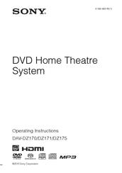 sony bravia dav dz175 manuals rh manualslib com sony dav-dz175 manual sony home theater dav-dz175 manual