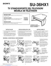 """Sony fd trinitron wega operating instructions 27"""", 32"""" & 36."""