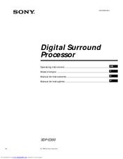 Sony sdp e800