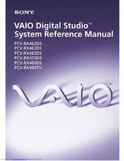 Sony PCV-RX465DS System Reference Manual