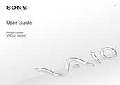 Sony VPCL23BFX/W User Manual