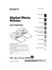 sony dpp fp95 manuals rh manualslib com Sony User Manuals Sony 5 CD Recorder Sony Operating Manuals ICD-UX523