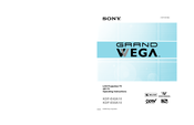 Sony Grand Wega KDF-E50A10 Operating Instructions Manual