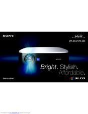 sony vpl ex3 manuals rh manualslib com sony vpl-ex3 specs proyector sony vpl-ex3 manual