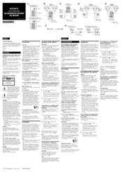 sony sa w3000 installation manual pdf download rh manualslib com Sony Subwoofer Home Theater Sony Powered Subwoofer Home Theater