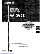 aiwa av dv75 hc manuals rh manualslib com Lincoln D57 aiwa av-d57 service manual
