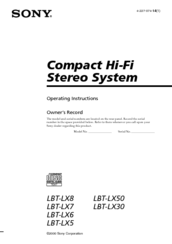 sony lbt lx5 manuals rh manualslib com Panasonic Lumix DMC LX5 Review LX5 Brackets