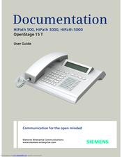 siemens hipath 5000 manuals rh manualslib com Siemens Controls Siemens PBX System