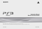 Sony 160GB Playstation 3 4-198-819-12 Instruction Manual