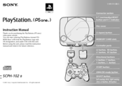 sony playstation ps one scph 102 manuals rh manualslib com PlayStation Wireless Headset Manual playstation 1 instruction manual