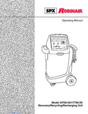 spx robinair 17700 2k manuals rh manualslib com