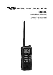 standard horizon hx750s manuals rh manualslib com Power Supply HX750 HX750 Review