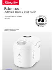 sunbeam bakehouse bm3500 manuals rh manualslib com sunbeam bakehouse 1kg bread maker manual sunbeam bakehouse compact bread maker recipes