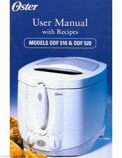 oster odf 510 user manual with recipes pdf download rh manualslib com Oster 4711 Food Steamer Manual Oster Food Steamer Manual