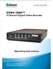 swann dvr4 1000 sw242 du2 operating instructions manual pdf download rh manualslib com