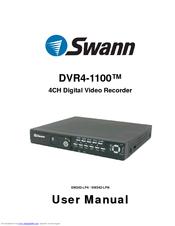 SWANN DVR4-1100 USER MANUAL Pdf Download