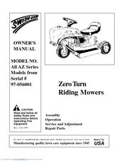 Swisher Big Mow Az Manuals