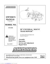 swisher ft1150 manuals swisher trail mower manual 44 swisher trail mower parts list