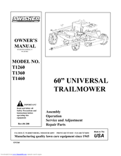 Swisher T1260, T1360, T1460 Manuals on swisher mower coil, swisher mower belt routing, swisher mower accessories, toro wiring diagram, swisher mower battery, swisher parts diagram, swisher pull behind mower belts, swisher mower wheels, lawn mower belt routing diagram, swisher 60 trail mower, swisher ride king mower parts, zero turn mower diagram, brute wiring diagram, swisher mower parts catalog, simplicity wiring diagram, swisher mower manual, ignition system wiring diagram, swisher trailmower t14560a wiring-diagram, swisher trail mower belt replacement, swisher mower parts list,