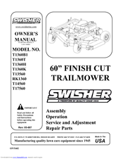 swisher t14560 manuals swisher t14560 owner s manual