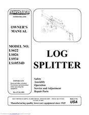 Swisher Ls934 Ls622 Ls826 Ls10534d Owner S Manual Pdf Download