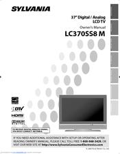 sylvania lc370ss8 m manuals rh manualslib com Sylvania LC320SLX Remote Code Sylvania 32 Inch