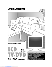 Sylvania SSL15D6 Owner's Manual