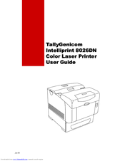 GENICOM INTELLIPRINT ML260 DRIVER FOR WINDOWS MAC