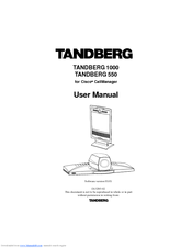 tandberg 1000 manuals rh manualslib com Tandberg 1000 Password Tandberg 1000 MXP Manual