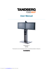 tandberg 7000 mxp manuals rh manualslib com Tandberg 8000 MXP Tandberg 7000 MXP