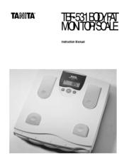 tanita tbf 531 manuals rh manualslib com