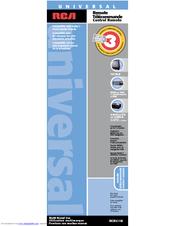 rca universal remote control manual