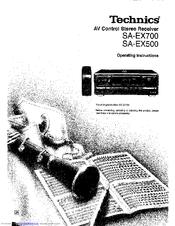 Technics sa-ex500 manuals.