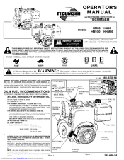 tecumseh hm80 manuals  at Wiring Diagram For A Hm80 100 Low Oil Shutdown Switch