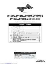 tecumseh lv195ea manuals rh manualslib com tecumseh lv195ea parts manual tecumseh lv195ea engine manual