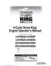 tecumseh snow king lh195sa operator s manual pdf download rh manualslib com Tecumseh Engine Identification Chart Diagrams Tecumseh Engine Specs