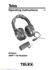 Telex Echelon ANR 150 Manuals