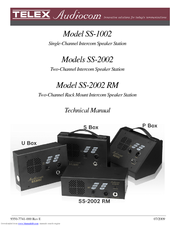 Audiocom SS-1002 Technical Manual
