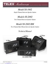 Telex SS-1002 Technical Manual