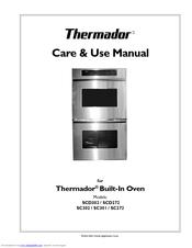 thermador sc302 manuals rh manualslib com thermador oven user manual thermador oven manual self-clean