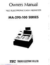 TEC MA-290 Owner's Manual