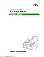 Toshiba TEC FS-1450-1 SERIES Owner's Manual