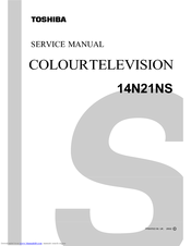 toshiba 32a14 color tv service manual download