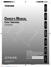 Toshiba 27A45 Manuals