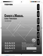 toshiba 32a33 manuals rh manualslib com Toshiba 55HT1U Manual Toshiba Laptop User Manual