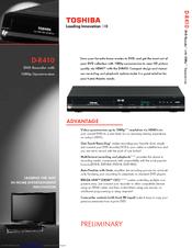 toshiba d r410 manuals rh manualslib com Toshiba Remote Manuals Toshiba 55HT1U Manual