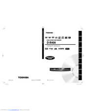 Toshiba D-R400KU Owner's Manual